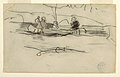 Drawing, Fisherman and Two Other Men in a Canoe, ca. 1897 (CH 18174597).jpg