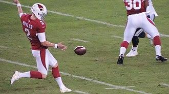 Drew Butler - Butler with the Arizona Cardinals