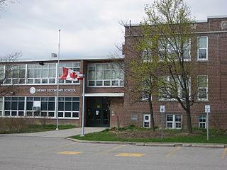 Drewry Secondary School Public high school in Newtonbrook, North York, Ontario, Canada