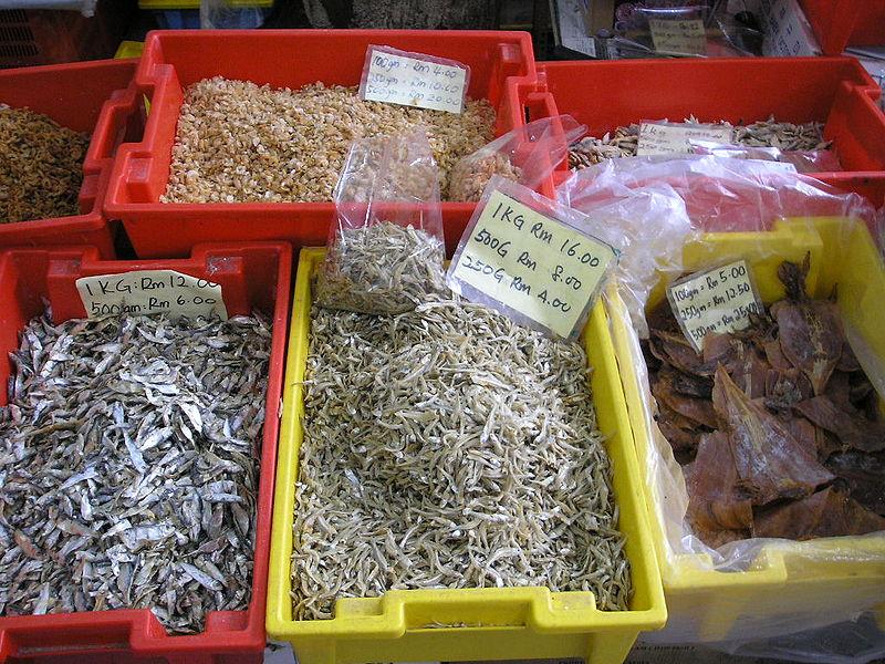 Seafood  in Pangkor Island