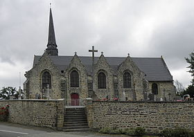 L'église paroissiale Saint-Pierre.