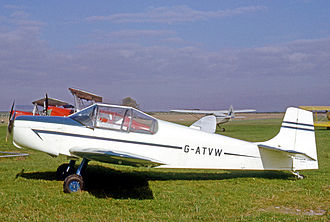 Rollason Aircraft and Engines - A 1966-built Rollason Condor two-seat training and club aircraft.