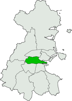 Dublin Central by-election, 2009 - Image: Dublin Central Dáil Éireann constituency
