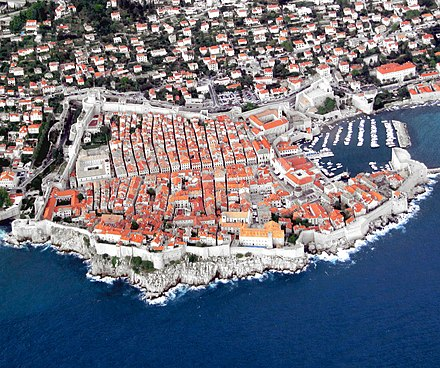 The Republic of Ragusa, a maritime city-state, was based in the walled city of Dubrovnik