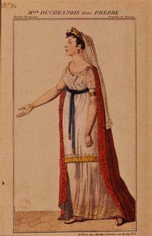 Joséphine Duchesnois - Duschesnois as Phèdre (1802)