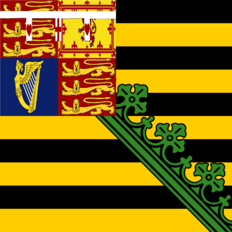 Flag of Saxony - Image: Duchy of Saxe Coburg Gotha