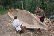 Dugout canoe on land.jpg