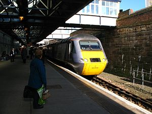 Dundee railway station - A service to London King's Cross
