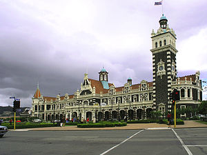George Troup (architect) - The George Troup designed Dunedin Railway Station