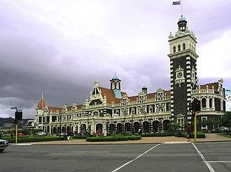 George Troup (architect) - The George Troup designed Dunedin Railway Station