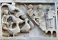 Duomo di massa marittima, esterno, episodi dlela vita di san cerbone, XIII secolo 05 oche.jpg