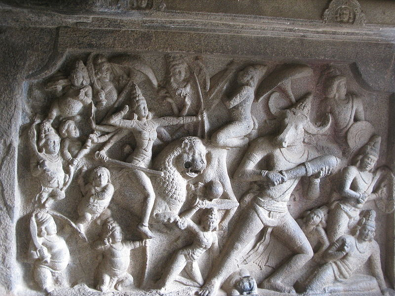 File:Durga Slays Mahisasura.jpg