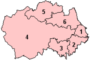 North East England devolution referendum, 2004 - Image: Durham Option 2