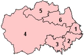 North East England devolution referendum, 2004 - Image: Durham Option 2