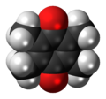 Duroquinone 3D spacefill.png