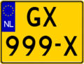 Dutch plate yellow NL car square.png