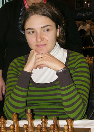 41st Chess Olympiad - Nana Dzagnidze of Georgia won the individual gold medal in the women's event.