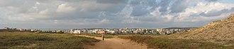Jisr az-Zarqa - Panoramic view of Jisr az-Zarqa