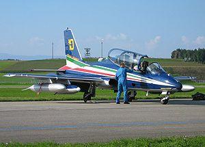 Aermacchi - Frecce Tricolori MB-339A/PAN