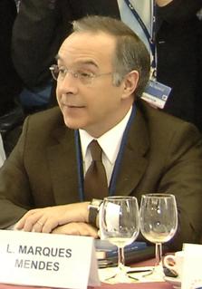 Luís Marques Mendes Portuguese politician