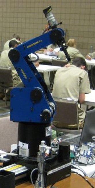 Educational robotics - The SCORBOT-ER 4u – educational robot.