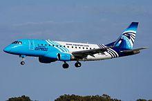 Embraer E-170 dell'Egyptair Express