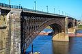 Eads Bridge from Laclede's Landing, Sep 2012.jpg