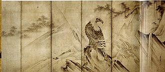 Takagari - Image: Eagle On A Rock Soga Nichokuan