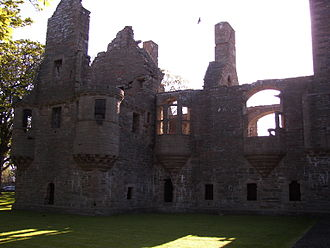 Patrick Stewart, 2nd Earl of Orkney - The ruins of the Earl's Palace