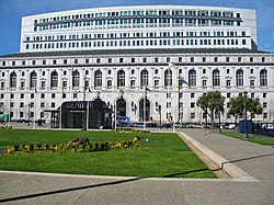 The Earl Warren Building in San Francisco, the headquarters of the state supreme court