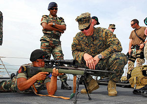 East Timor soldier with a M14.jpg