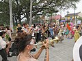 Easter Sunday in New Orleans - Brass Band Jam by Armstrong Arch 10.jpg