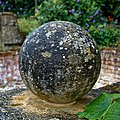 Easton Lodge Gardens, Little Easton, Essex, England ~ ball finial 2.jpg