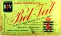 Eaux minérales de Bel-Val, étiquette.png