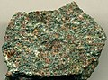 Eclogite (Late Silurian to Early Devonian, ~400-423 Ma; Nordfjord area, Sogn og Fjordane County, Norway) 4 (14911296258).jpg