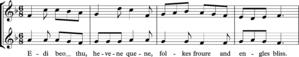 Voice crossing - Edi beo