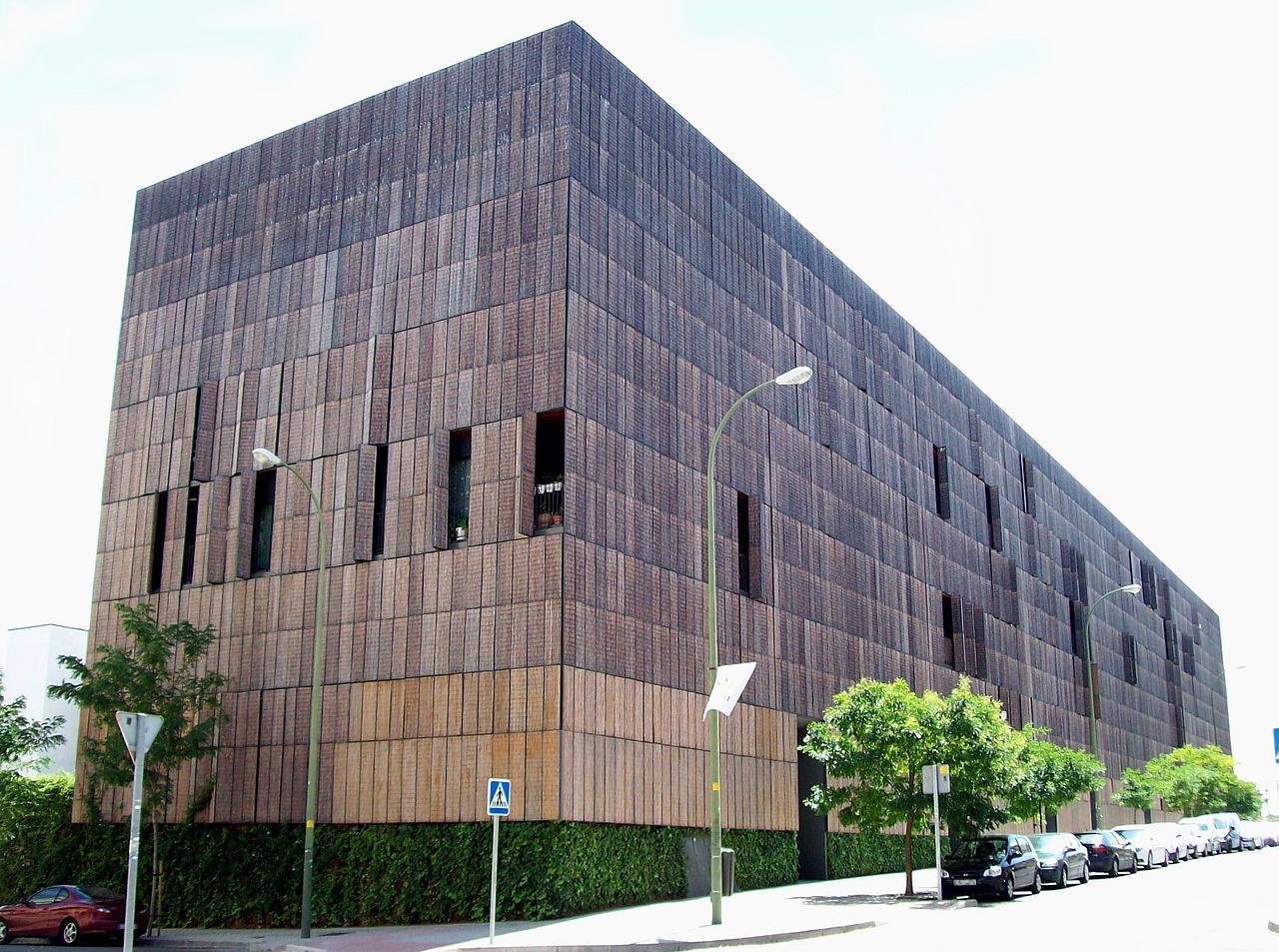 Edificio construído con Bambú en Madrid