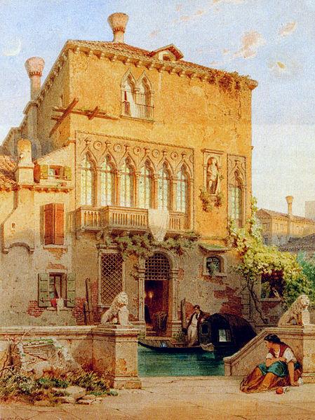 File:Eduard Gerhardt Venedig Haus der Familie Moro.jpg