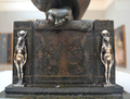 Edward Onslow Ford (1852-1901) Applause (1893), rear of pedestal, Tate Britain, Dec 2012 (8285083583).png