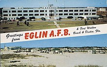 Eglin AFB postcard from the 1970s.