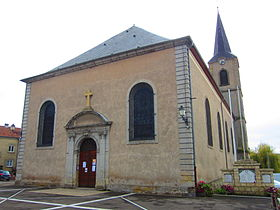 Église Saint-Vincent.