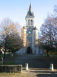 Eglise St Barthelemy (quartier Départ)-Orthez.JPG