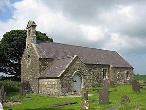 St Dyfnan's Church, Llanddyfnan - Image: Eglwys Llanddyfnan Church geograph.org.uk 906114