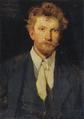 Eilif Peterssen - Portræt af Peder Severin Krøyer - 1875.png
