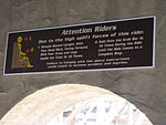 El Toro attention riders sign.jpg