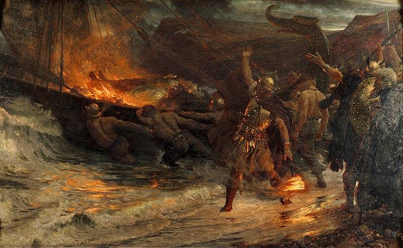 File:El funeral de un vikingo, por Frank Dicksee.jpg