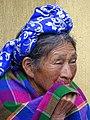Elderly Mayan Woman - Santa Cruz del Quiche - Quiche - Guatemala - 03 (15932036561).jpg