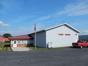Eldred Township, Schuylkill County, Pennsylvania - Image: Eldred Township Office, Schuylkill Co PA 01