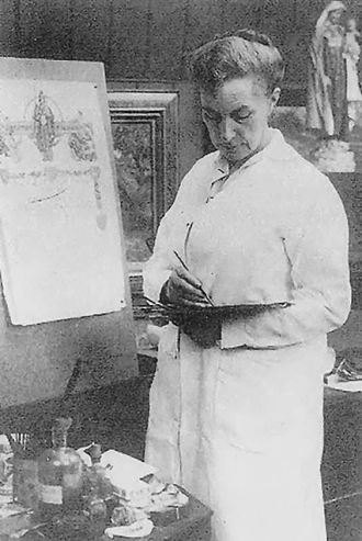 Eleanor Fortescue-Brickdale - Eleanor Fortescue-Brickdale, c. 1900
