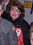 Elizabeth Dole during the flight to Tuzla, Bosnia - Flickr - The Central Intelligence Agency.jpg
